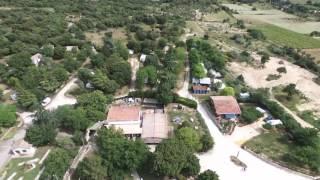 survol du camping les truffières et ses environs en drone