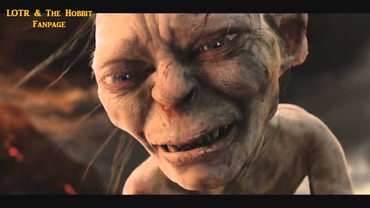 the lord of the ring extended edition gollum choking frodo hd