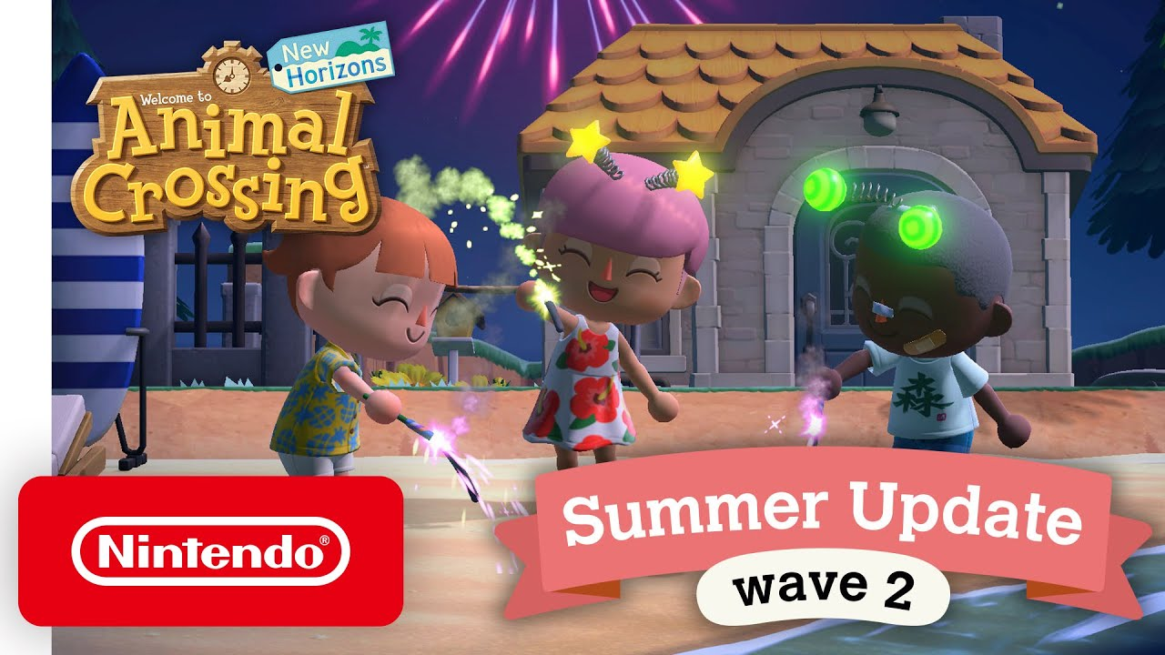 Download Animal Crossing: New Horizons Summer Update - Wave 2 - Nintendo Switch