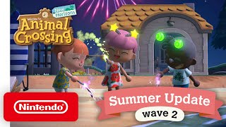 Animal Crossing: New Horizons Summer Update - Wave 2 - Nintendo Switch