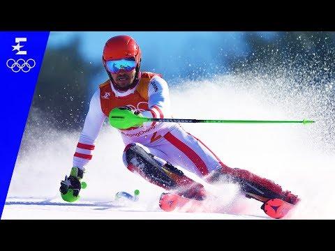 Alpine Skiing | Men's Alpine Combined Slalom | Pyeongchang 2018 | Eurosport