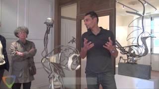 Exposition Stéphane Olivier - Artiste sculpteur - Édition 2015 à Avallon (89).