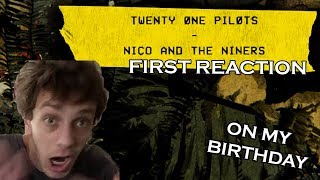 FIRST REACTION: twenty one pilots: Nico And The Niners [Official Audio]