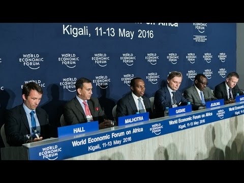 Africa 2016 - Press Conference: Kigali Innovation City Launch