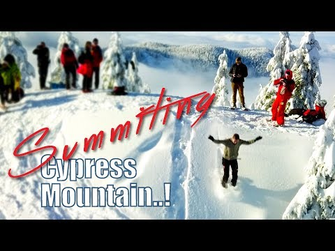 Cypress Mountain Summit - North Vancouver B.C