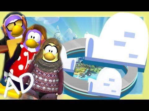 Club Penguin Island - 1.8 IGLOOS & CROSS PLATFORM!!! ~ Sqaishey