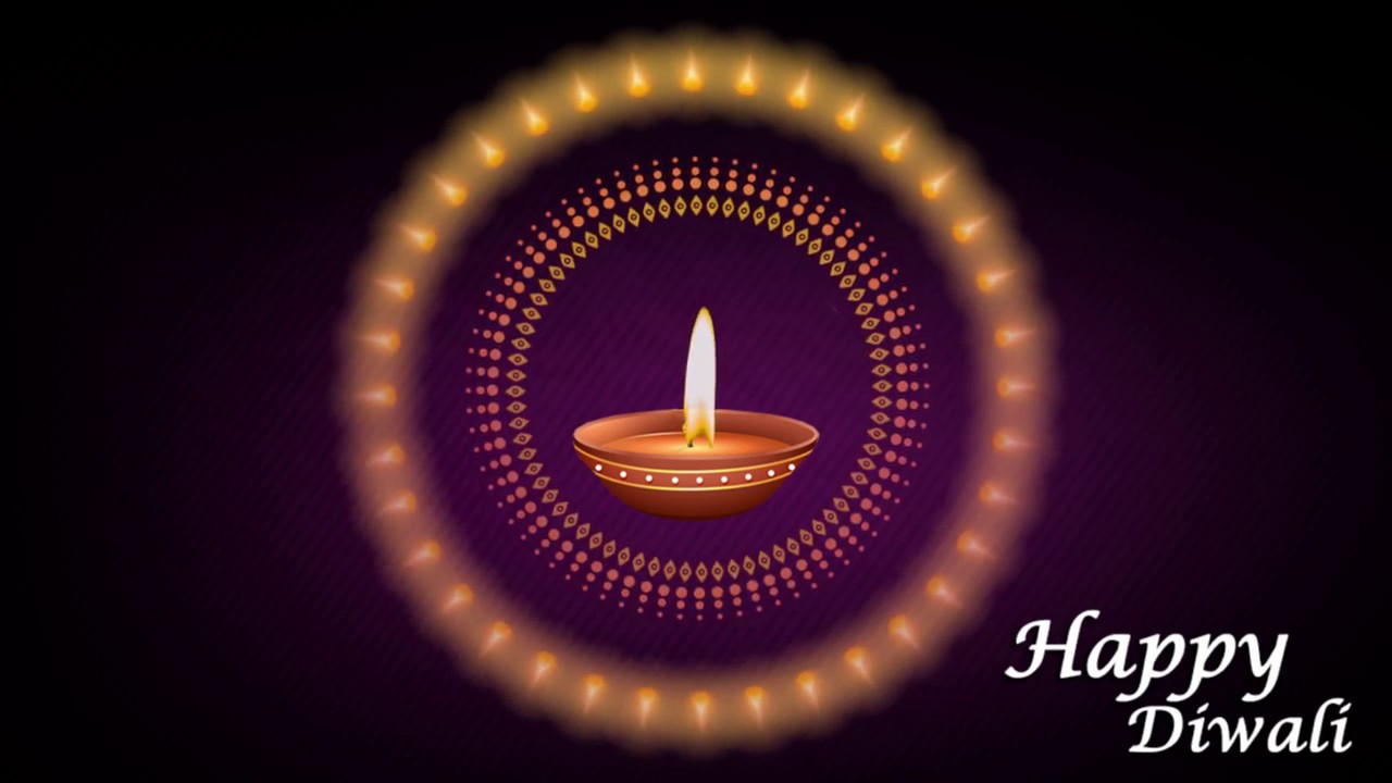Happy Diwali Best Wishes Animated Background Video Youtube