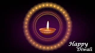 Happy Diwali Best Wishes Animated Background Video