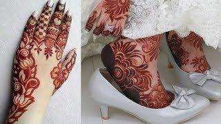 Stylish beautiful mehndi designs for hands 2018 | mehndi designs for legs | mehndi design arabic