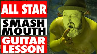 Smash Mouth All Star Guitar Lesson + Tutorial