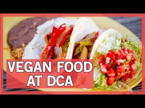Best vegatarian options at restraurants at disneyland and ca adventure