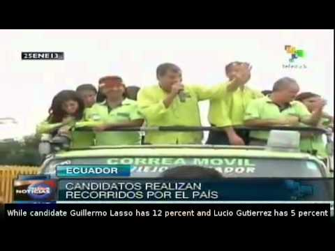 Ecuador's Correa remains favorite in polls