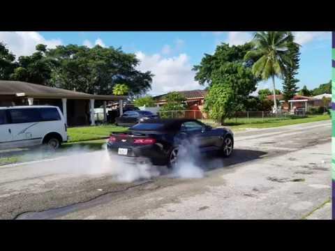 2017 Camaro SS burnout - YouTube
