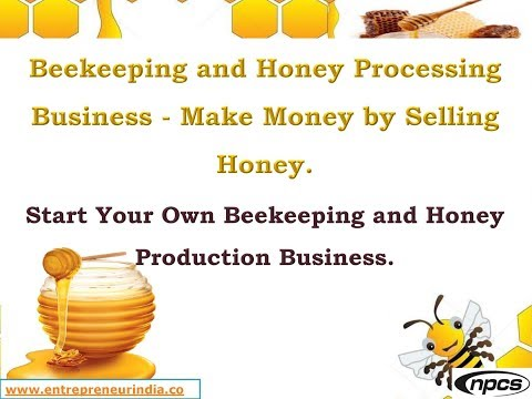 Beekeeping and Honey Processing Business - Make Money by Selling Honey.