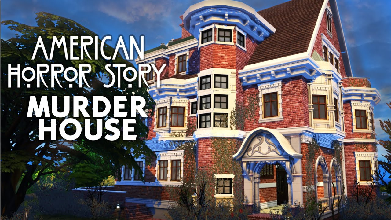 American Horror Story Coven Sims 4 Speed Build Youtube