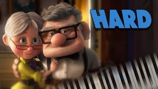 Married Life (from Pixar's Up) - Piano Tutorial