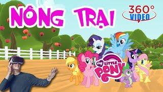 [360 VR]Tham quan trang trại của Ngựa Pony   Visiting the Ponies' farm