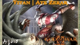 GOD OF WAR 2 PS2 Ω 🔴 [[ LIVE ]] 🔴 -  GLITCHLESS | TITAN | VERY HARD | ATÉ ZERAR