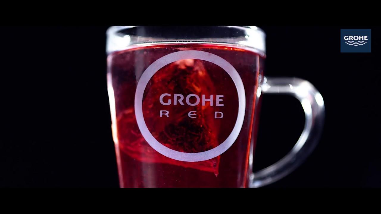 Super Kenmerken GROHE Red New kokend heet water kraan - YouTube ON68