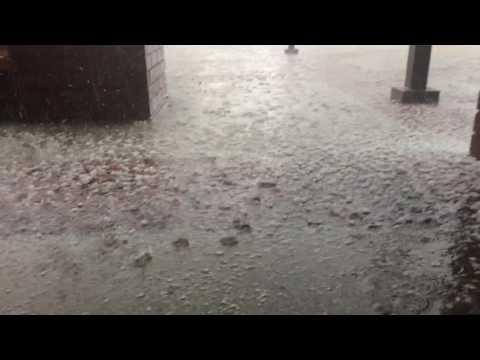 West Covina CA hail