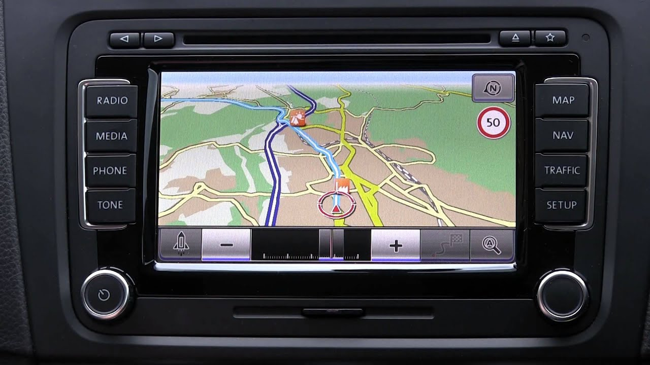 erstkontakt vw rns 510 navigation map nav traffic. Black Bedroom Furniture Sets. Home Design Ideas