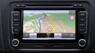 Erstkontakt VW RNS 510 - Navigation (MAP/NAV/TRAFFIC)