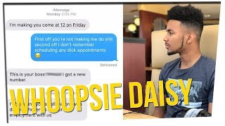 Guy Quits Job After Mistaken Text to Boss ft. Tim DeLaGhetto