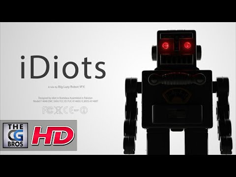 "CGI VFX Animated Short HD: ""iDiots"" - A tale by Big Lazy Robot VFX"