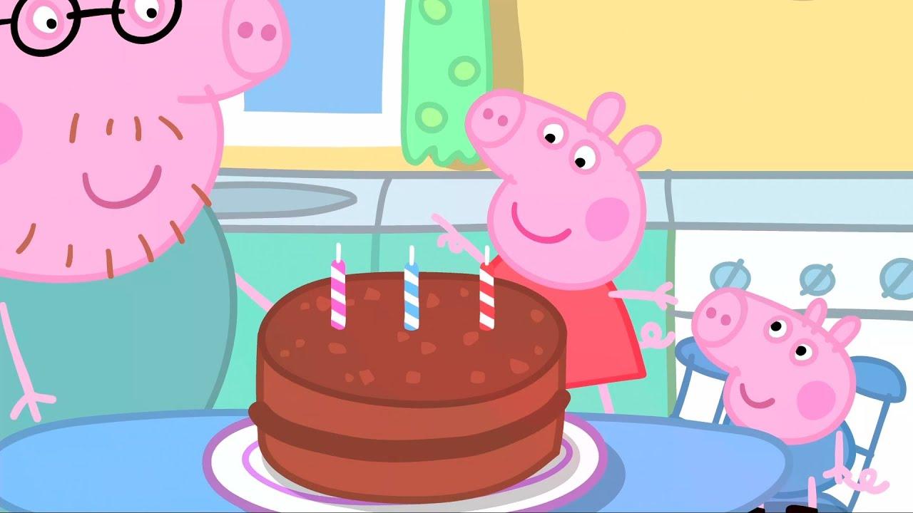 Peppa Pig Birthday Cake Youtube