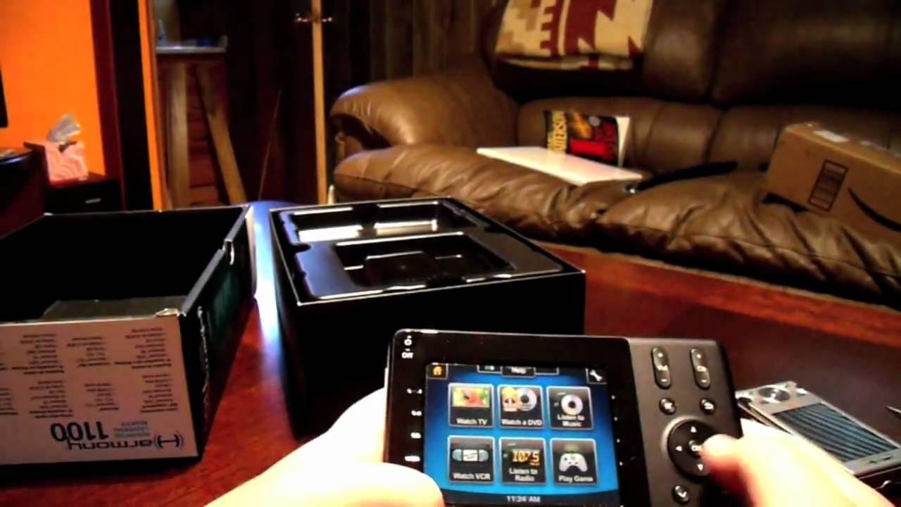 b67adf7f169 Logitech Harmony 1100 Unboxing - YouTube
