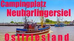 Nordsee - Camping - Neuharlingersiel, in toller Lage direkt hinter dem Deich am Meer in Ostfriesland