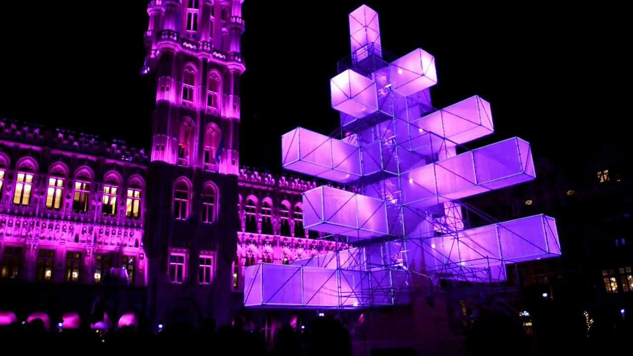 Location Sapin De Noel Sapin de Noël 2012 Grand Place Bruxelles   YouTube
