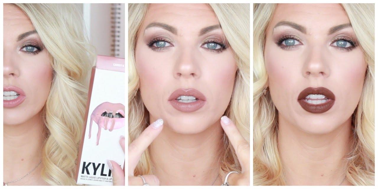 Kylie Jenner Lip Kit Lip Swatches Amp Colour Pop Dupe