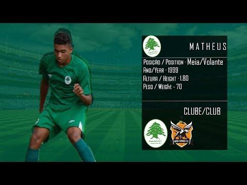 Matheus Moreira - Meia / Volante  - 99
