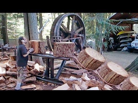 Удивительные инструменты и техника для работы с Деревом - Видео онлайн