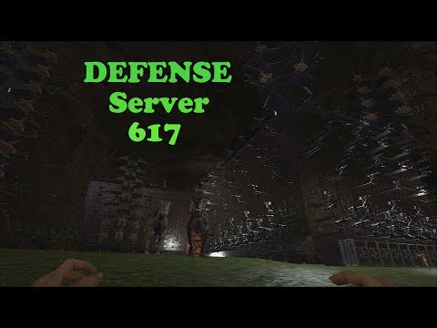 Ark Survival Evolved Official: Server 617 Defense vs. Spartans, BLDX, and many more!