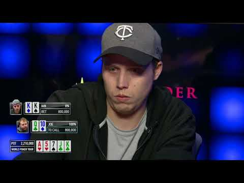 Incredibly Unbelievable Fold on the World Poker Tour