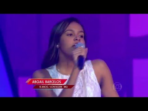 Abgail Barcelos canta 'Insano' no The Voice Kids - Audições|1ª Temporada