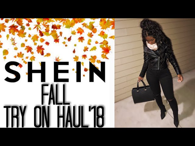 MASSIVE Shein Fall Try On Haul 2018   MUST WATCH! iDESIGN8