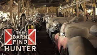 365ft Barn, dusty Jaguar E-Types and an angry opossum | Barn Find Hunter - Ep. 20