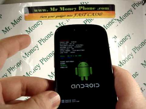 HARD RESET your Samsung Google Nexus S DATA Wipe External Reset (RESTORE to FACTORY condition)
