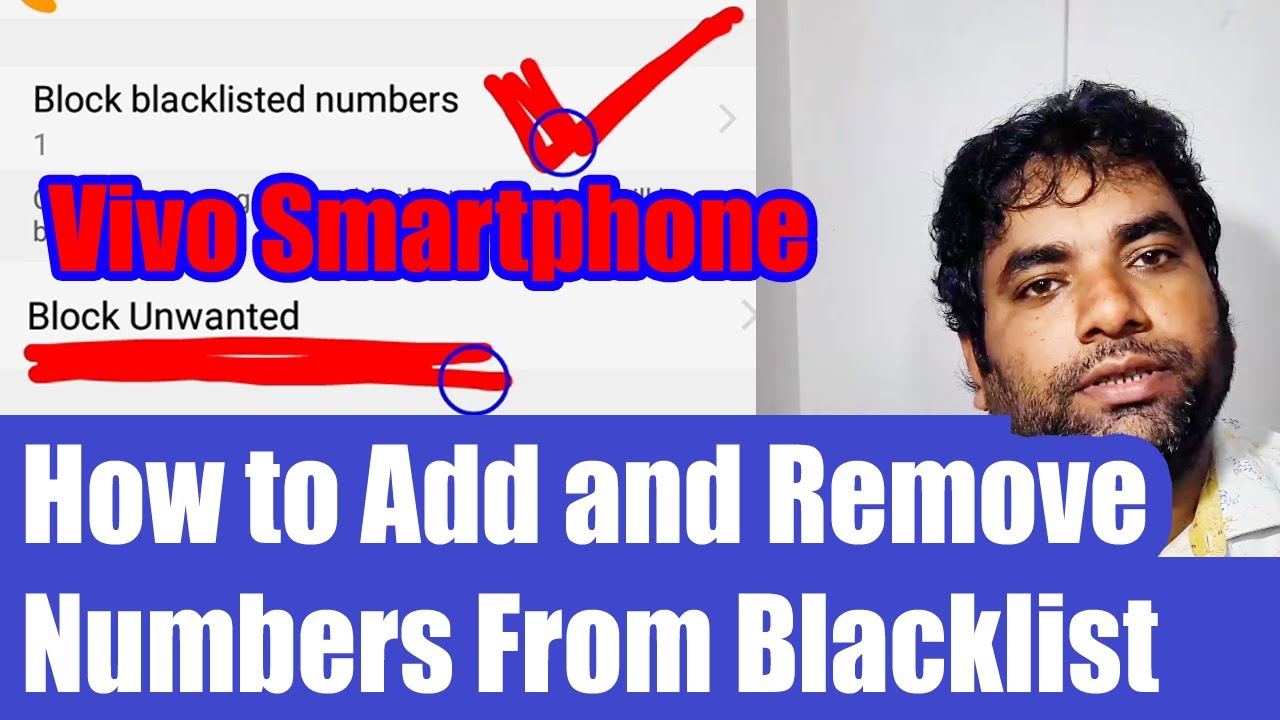Y93 How to Add and Remove Numbers From Blacklist - VIVO Smartphones