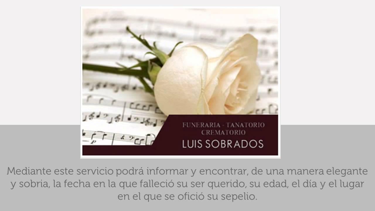 Esquelas Funerarias Tanatorio Zamoranos Funeraria Luis Sobrados
