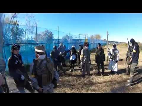 サバゲー動画DSK貸切フラッグ戦 iCS CXP UK1