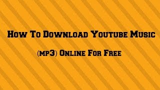 how-to-download-youtube-music-mp3-online-for-free