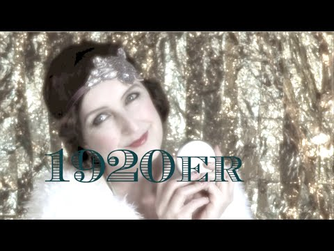 1920s makeup ★ Fab4ty Retro Style ★ 20er Jahre Look ★  Fab4tyStyle