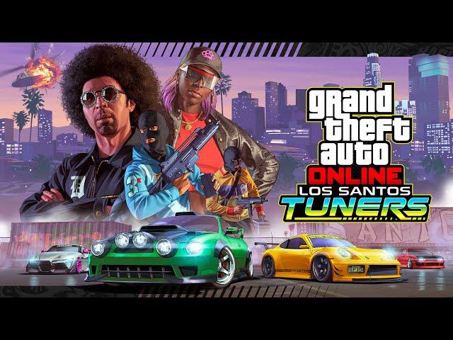 GTA Online - Bande annonce de lancement de la mise à jour Los Santos Tuners