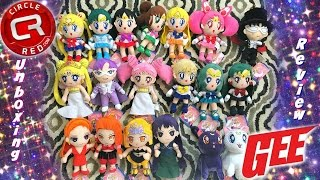 Circle Red Unboxing & Sailor Moon GEE Plush Collection Review ~ セーラームーン