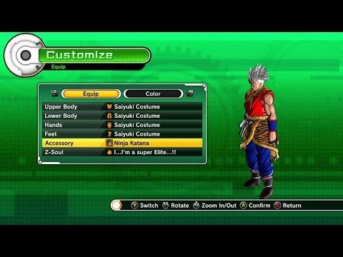 [GUIDE] La tenue que shenron vous donne - Dragon Ball XV