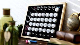 【CAINZ DIY STYLE】ペットボトルキャップで作る!簡単!黒板カレンダー DIY